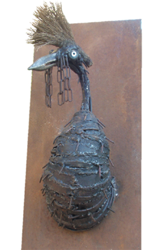 Trophée oiseau