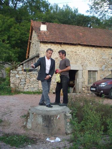 Rencontre avec le danseur Jean Gaudin au Meix Roblin.